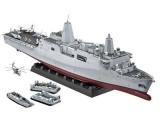 Zobrazit detail - Plastic ModelKit loď 05118 - Amphibious Transport Dock U.S.S. New York (LPD-21) (1:350)