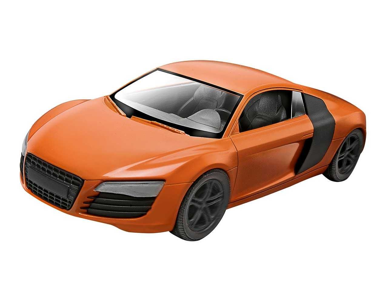 Build & Play auto 06111 - Audi R8 (1:25) Plastikové modely