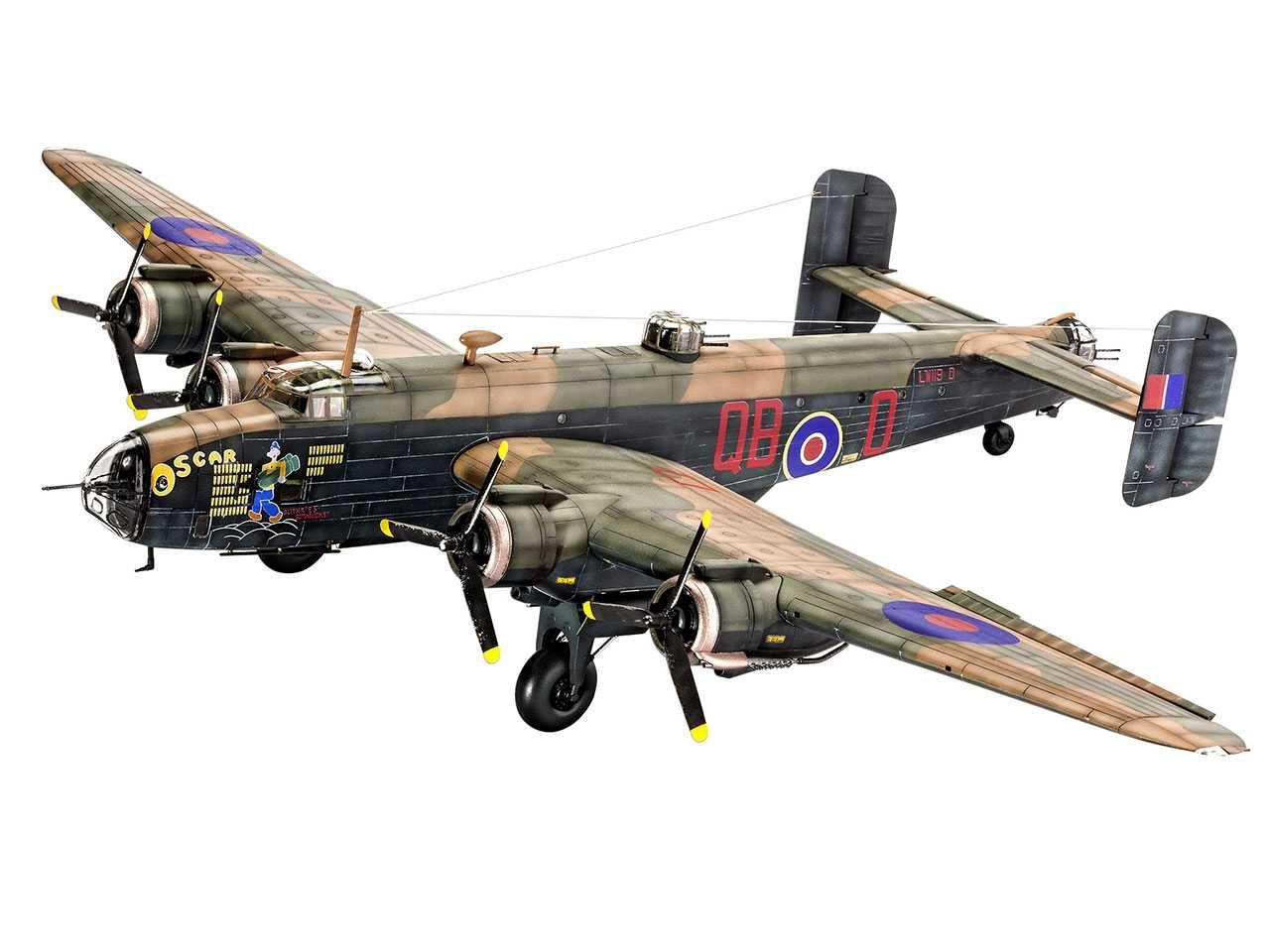 Plastic ModelKit letadlo 04936 - Handley Page Halifax Mk.III (1:72) Plastikové modely