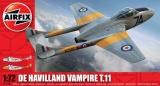 Classic Kit letadlo A02058 - de Havilland Vampire T.11 (1:72)