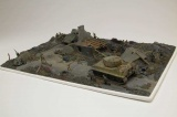 Gift Set diorama A50009 - D-Day Battlefront (1:76) Plastikové modely
