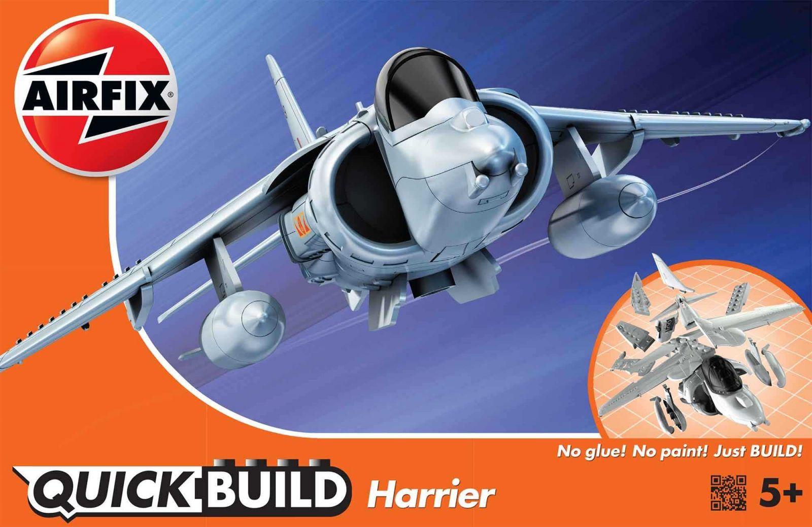 Quick Build letadlo J6009 - Harrier Plastikové modely