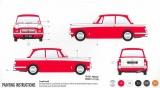Starter Set auto A55201 - Triumph Herald (1:32) Plastikové modely