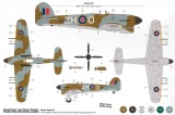 Starter Set letadlo A55208 - Hawker Typhoon Ib (1:72) Plastikové modely