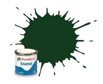 Humbrol barva email AA0031 - No 3 Brunswick Green - Gloss - 14ml Plastikové modely