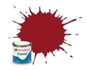 Humbrol barva email AA0223 - No 20 Crimson - Gloss - 14ml Plastikové modely