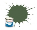 Humbrol barva email AA1290 - No 117 US Light Green - Matt - 14ml