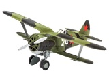 Plastic ModelKit letadlo 03963 - Polikarpov I-153 Chaika (1:72)