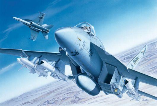 Model Kit letadlo 0083 - F/A-18E SUPER HORNET (1:72) Plastikové modely