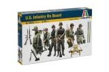 Model Kit figurky 6522 - U.S. INFANTRY ON BOARD (1:35)