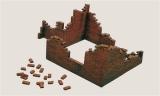 Model Kit budova 0405 - BRICK WALLS (1:35) Plastikové modely