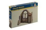 Model Kit budova 0408 - CHURCH WINDOW (1:35) Plastikové modely