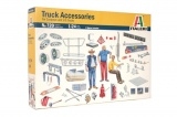 Model Kit doplňky 0720 - TRUCK ACCESSORIES (1:24)