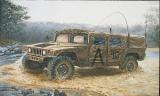 "Model Kit military 0273 - M 998 ""Command Vehicle"" (1:35)"