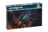 Model Kit vrtulník 0017 - AH-6 NIGHT FOX (1:72)