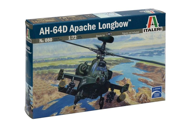 Model Kit vrtulník 0080 - AH-64 D APACHE LONGBOW (1:72) Plastikové modely