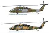 "Model Kit vrtulník 1328 - UH-60/MH-60 BLACK HAWK ""NIGHT RAID"" (1:72) Plastikové modely"