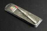 Fine serrated locking tweezers - 160mm 50821 - pinzeta pro uchycení