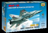 Model Kit letadlo 7229 - MIG-31 Soviet Interceptor (1:72)