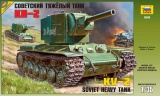 Model Kit tank 3608 - Soviet heavy tank KV-2 (1:35)