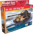 Model Set tank 77004 - Sd.Kfz. 182 King Tiger (WWII) (1:72)