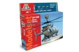 Model Set vrtulník 71027 - OH 58D Kiowa Warrior (1:72)
