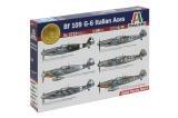Model Kit letadlo 2719 - BF 109 G-6 ITALIAN ACES (1:48)