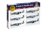 Model Kit letadlo 2743 - P51 D/K PACIFIC ACES (1:48)