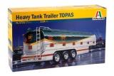 """Model Kit návěs 3731 - HEAVY TANK TRAILER """"TOPAS"""" (1:24)"""
