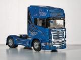 """Model Kit truck 3873 - SCANIA R620 """"BLUE SHARK"""" (1:24)"""
