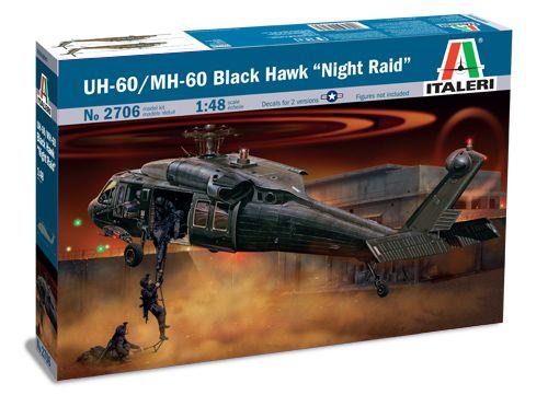 """Model Kit vrtulník 2706 - UH-60/MH-60 """"NIGHT RAID"""" (1:48) Plastikové modely"""