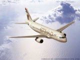 Plastic ModelKit letadlo 03968 - Airbus A320 Etihad (1:144)