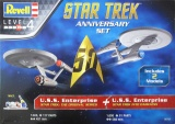 Gift-Set Star Trek 05721 - STAR TREK Anniversary Set (1:500 & 1:600)