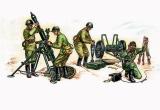 Model Kit figurky 3503 - Soviet 120mm Mortar with crew (re-release) (1:35) Zvezda Plastikové modely
