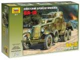 Model Kit military 3617 - Soviet Armored Car BA-10 (1:35)