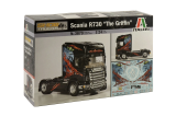 Model Kit truck 3879 - SCANIA R730 THE GRIFFIN (1:24)