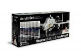 Sada akrylových barev 431AP - MODERN USAF/U.S. NAVY AIRCRAFT 6 ks