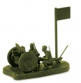 Wargames (WWII) military 6145 - Soviet 76-mm Gun (1:72) Plastikové modely