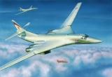 Model Kit letadlo 7002 - Tupolev TU-160 Russian Strategic Bomber (1:144) Plastikové modely