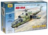 Model Kit vrtulník 7273 - Mi-24A Hind (1:72)