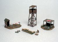 Model Kit budova 6130 - BATTLEFIELD BUILDINGS (1:72) Plastikové modely