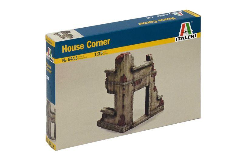 Model Kit budova 6413 - HOUSE CORNER (1:35) Plastikové modely