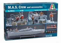 Model Kit figurky 5611 - M.A.S. CREW and ACCESSORIES (1:35)