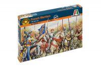 Model Kit figurky 6026 - FRENCH WARRIORS (100 YEARS WAR) (1:72)