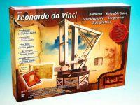 Leonardo edice 00505 - Rotatable Crane - dřevěná stavebnice (1:15)