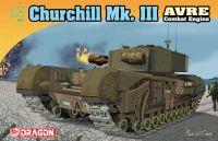 Model Kit tank 7327 - Churchill Mk.III AVRE (1:72)