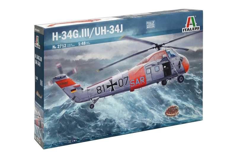 Model Kit vrtulník 2712 - UH-34J (1:48) Plastikové modely