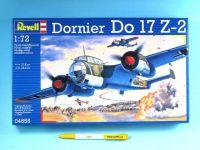 Plastic ModelKit letadlo 04655 - Dornier Do 17 Z (1:72)
