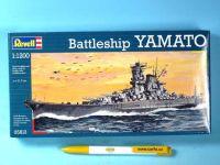 Plastic ModelKit loď 05813 - Yamato (1:1200)