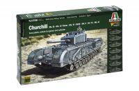 Wargames tank 15760 - Churchill Mk.III / IV / AVRE / NA75 (1:56)